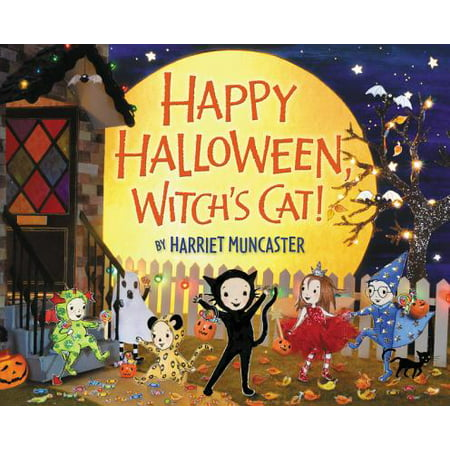 Happy Halloween, Witch's Cat! - Happy Halloween Messages Card