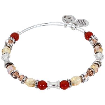 Bangle Kenneth Jay Lane (Alex And Ani Earth Red United Bangle Bracelet Rafaelian Silver Finish A16EB98RS )