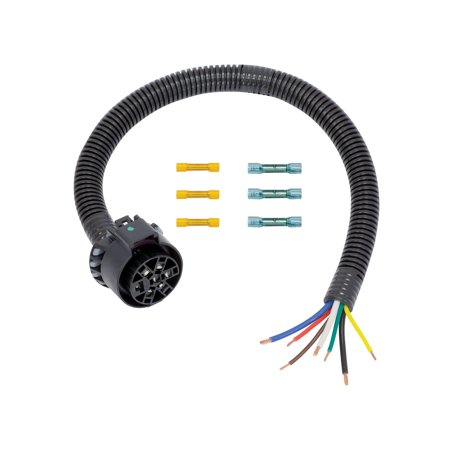 Tow Ready USCAR 7 Way Replacement Harness - 7 Pin Tow Harness