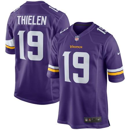 Adam Thielen Minnesota Vikings Nike Game Jersey - Purple (Minnesota Vikings Reebok Jersey)