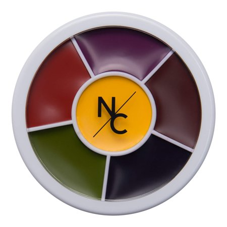 Narrative Cosmetics Bruise Wheel for Special Effects, Theatrical Makeup and Halloween - 6 Color