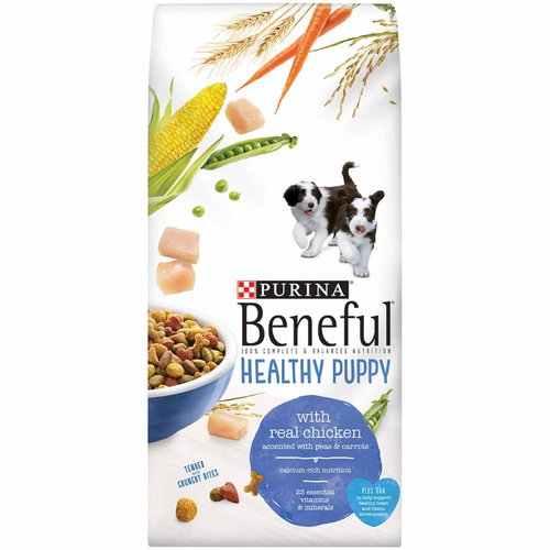 Purina Beneful Healthy Puppy Dog Food 3.5 lb. Bag