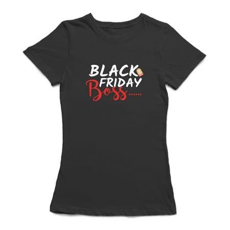 Black Friday Boss Women's Royal Blue T-shirt