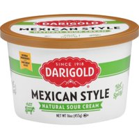 Darigold No Spice Mexican Style Sour Cream, 16 Oz.