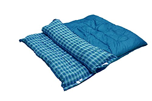 Big River Outdoors 2 Person Scout Plus 35� Oversized Sleeping Bag by Overstock