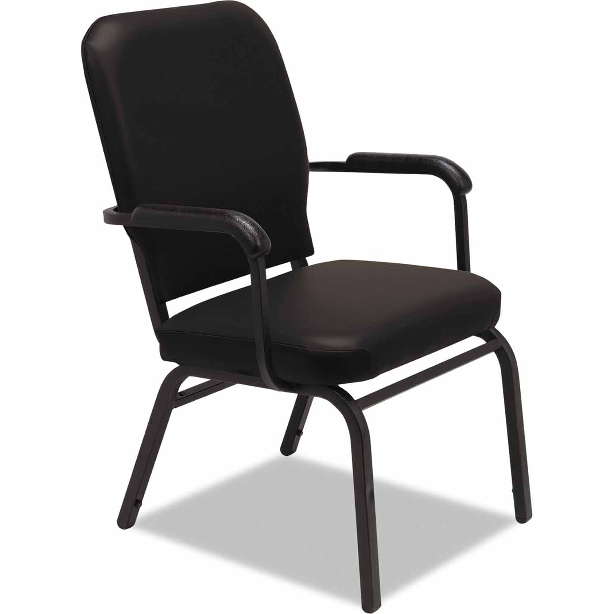 Alera Oversize Stack Chair with Arms, Upholstery, Set of 2