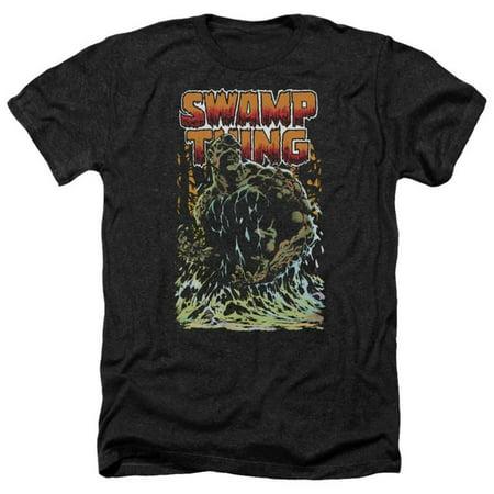 Swamp Thing- Green Hero Apparel T-Shirt - Black](Thing 1 And 2 Shirts)
