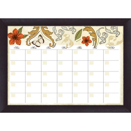Pro Tour Memorabilia Flower Garden Monthly Whiteboard