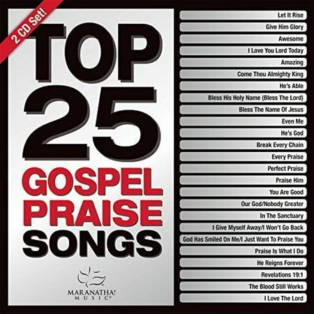 - Top 25 Gospel Praise Songs (Green) (CD)