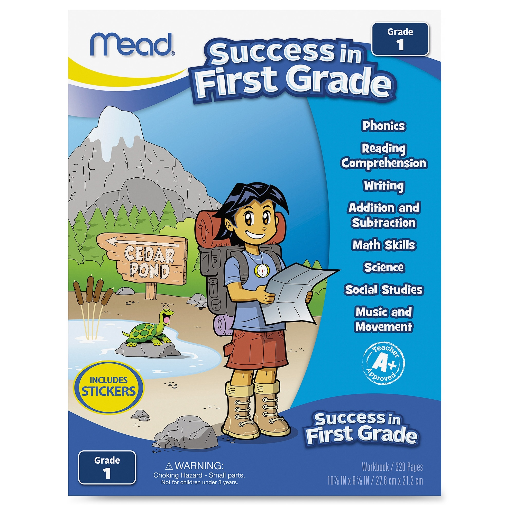 Mead Grade 1 Comprehension Workbook Education Printed Book for ...