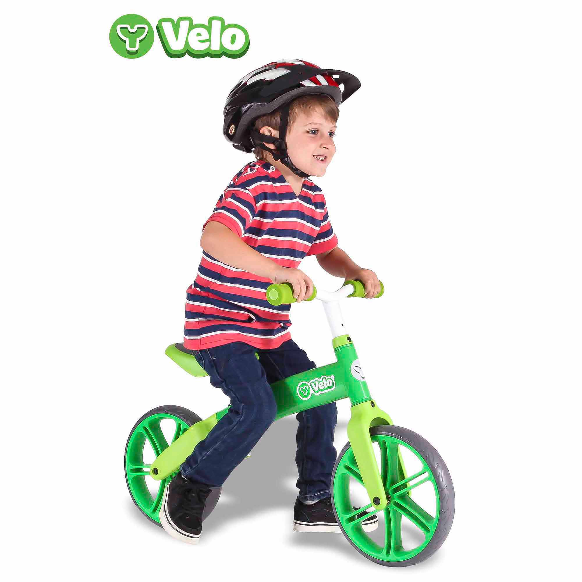 Yvolution Y Velo Balance Bike, Green