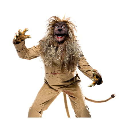 Paper Magic Scary Dark Wizard of Oz Cowardly Lion Halloween Costume - Scary Halloween Magic Tricks