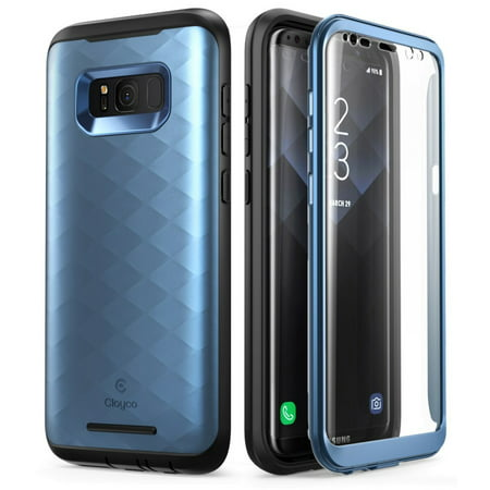 Samsung Galaxy S8 Plus Case, Clayco [Hera Series] Full-body Rugged Case with Built-in Screen Protector for Samsung Galaxy S8 Plus (2017 Release)](Galaxy Life Halloween Event 2017)