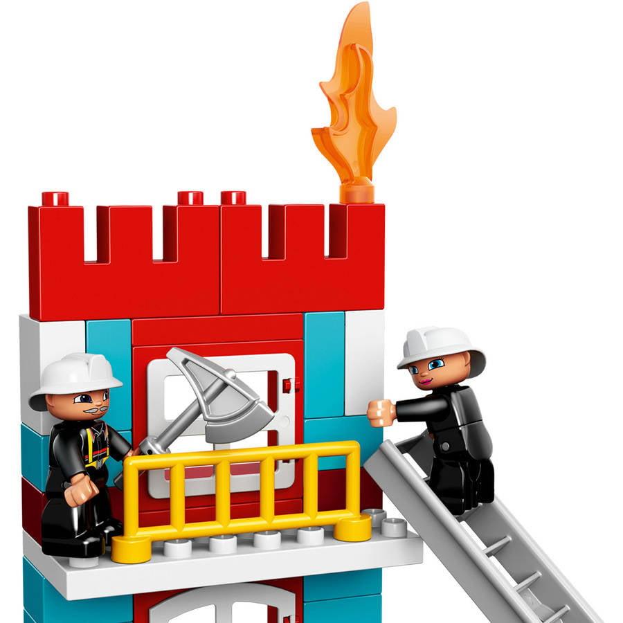 LEGO DUPLO Town Fire Station, 10593 - Walmart.com