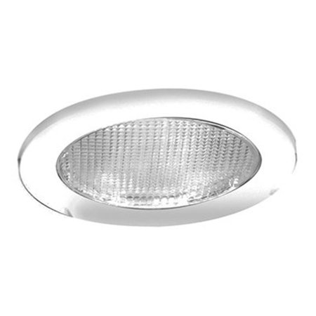 951PS 4 in. White Recessed Shower Trim - image 1 of 1