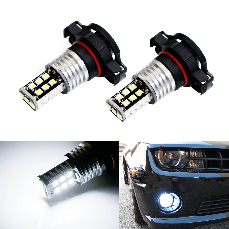 LED Headlight Kit 5202 6000K White Fog Light Bulbs for DODGE Avenger 2010-2012