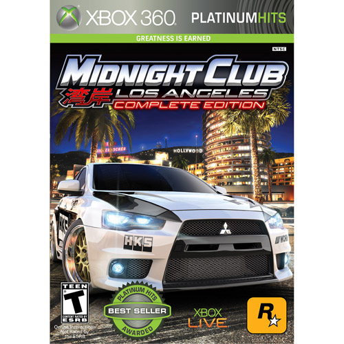 Rockstar Games Midnight Club LA: Complete Edition, 2K, Xbox 360, 710425397172