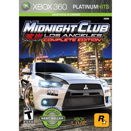 Midnight Club Los Angeles Complete Edition (XBOX (Best Xbox 360 Games Ever)
