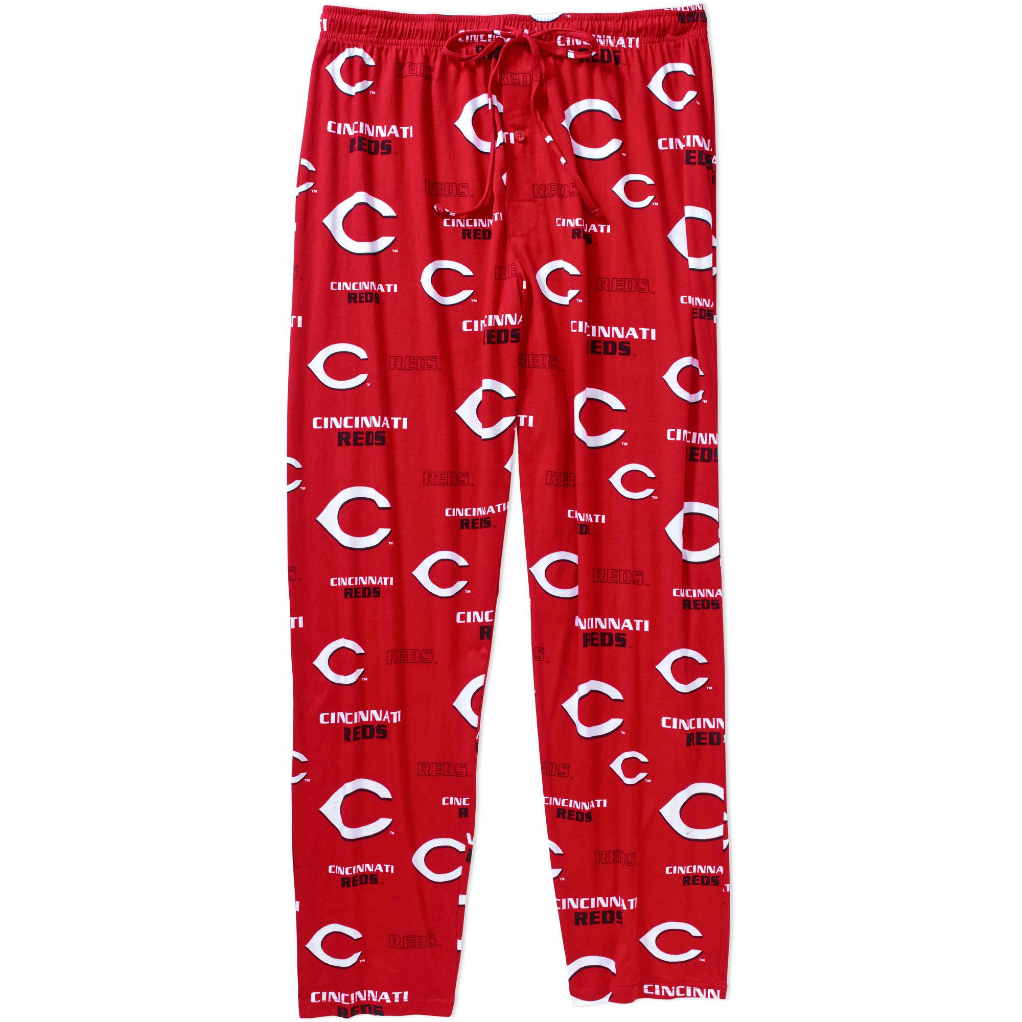 MLB Men's Cincinnati Reds Knit Sleep Pants