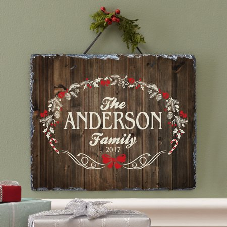 Personalized Rustic Christmas - Walmart Personalized Gifts
