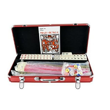 American Mahjong Set Mah Jongg Sets Aluminum Case 166