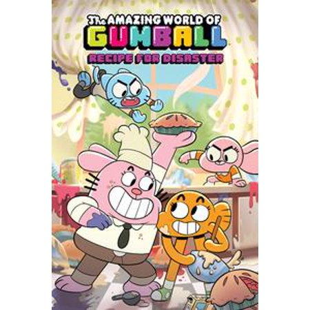 Amazing World of Gumball Original Graphic Novel: Recipe For Disaster - eBook - The Amazing World Of Gumball Halloween Games