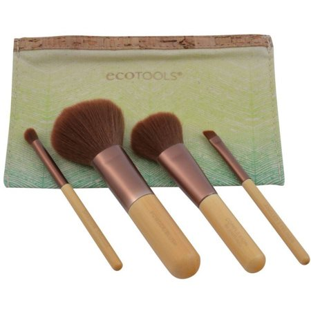EcoTools Bamboo Makeup Brush 5-Piece Travel Collection Set