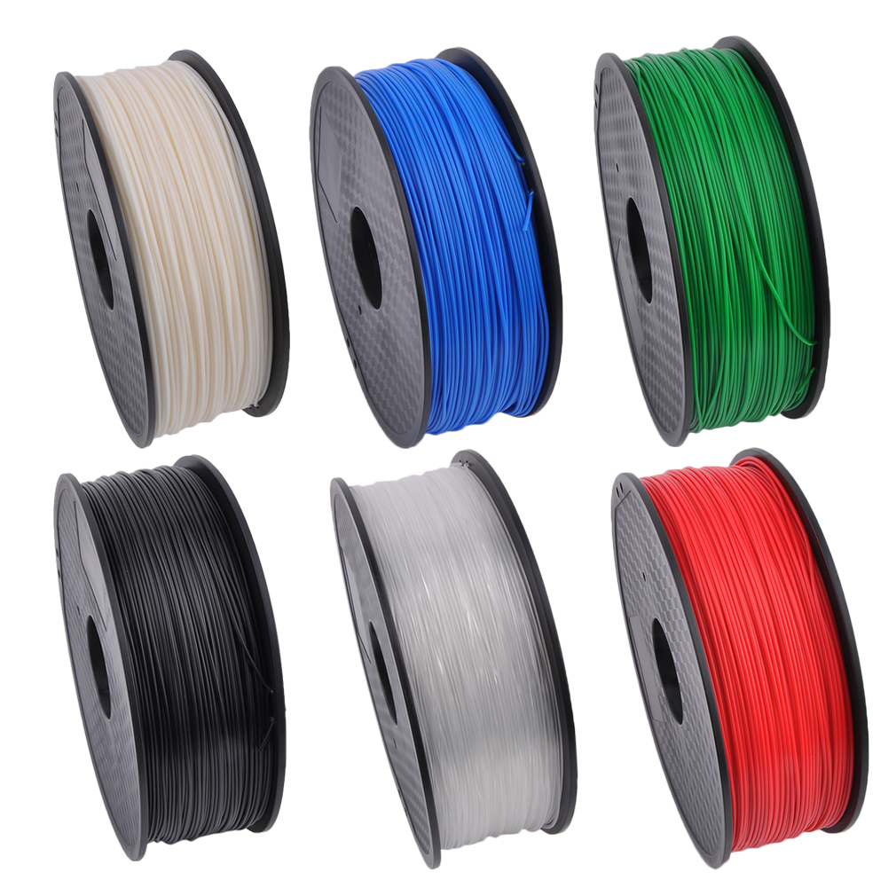 1.75MM 3D Printing Printer Filaments ABS 1KG Consumables Material Printing Accessories 6 Colors Optional