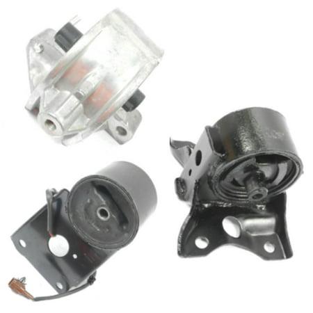 M560 06EL 7303 7321 For 97-99 Nissan Maxima 3.0L Set 3 Trans & Engine Motor Mount 97 98 99