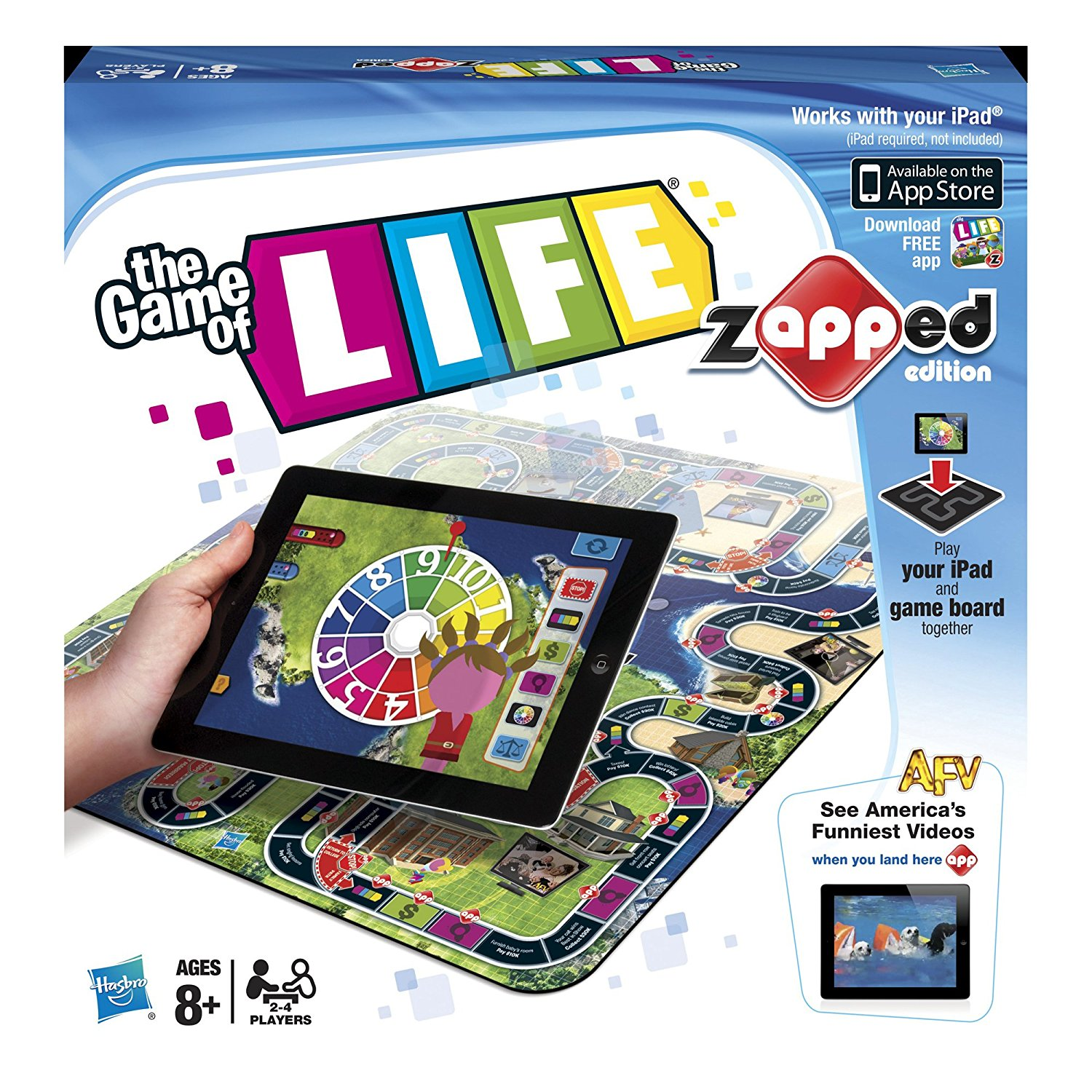 The Game of Life Zapped Edition, Empire Exclusive Plastic Haunted zAPPed The Board of... by