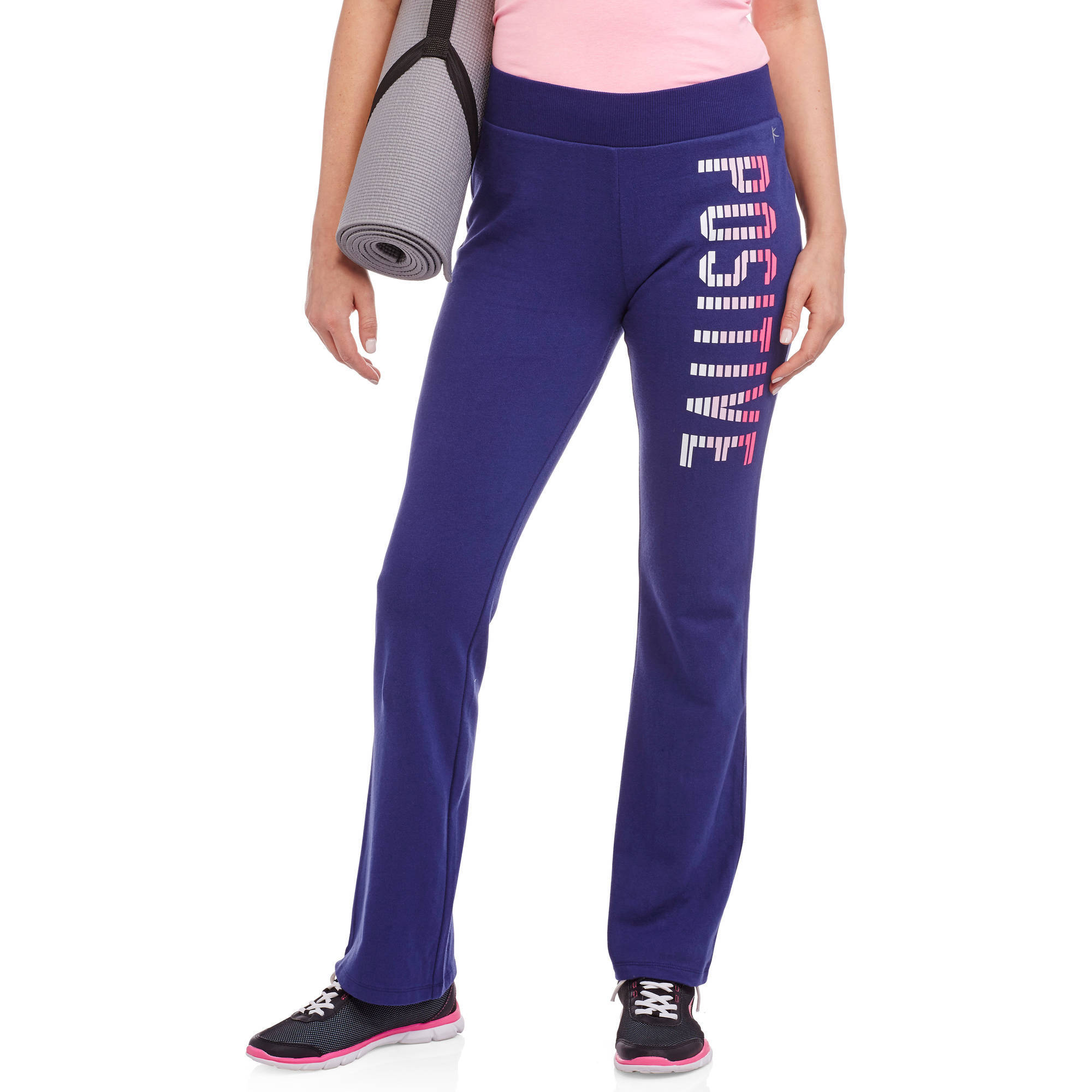 Danskin Now Women's Active Fitspiration French Terry Pants