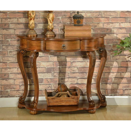 All Things Cedar Accent Furniture Old World Entry Table ()