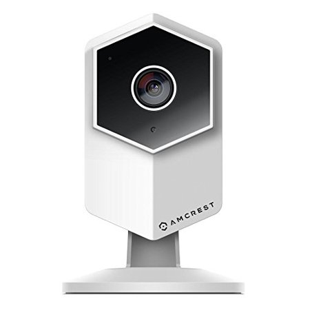 Amcrest UltraHD Shield 2K Dual-Band WiFi Video Security IP Camera w/ Two-Way Audio, MicroSD Recording, Super Wide 140° Viewing Angle, Full HD 3MP(2304×1296) @ 20FPS and Night Vision IP3M-HX2 (White)
