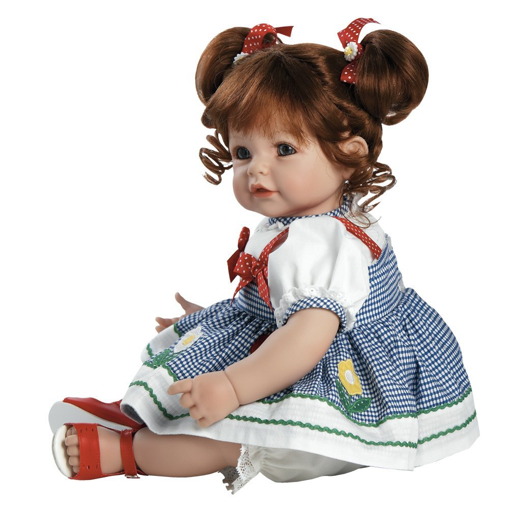 Adora Daisy Delight 20-inch Weighted Baby Doll in Gingham Dress and ...