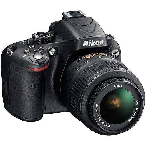"Nikon D5100 16.2MP Black DSLR Camera, 18-55mm VR Lens, 3.0"" LCD Display"