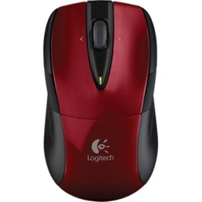 Logitech M525 Wireless Nb Mouse Red