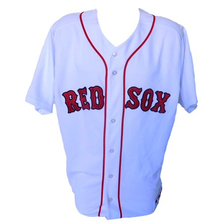Boston Red Sox Majestic Authentic White Jersey Size 48 by
