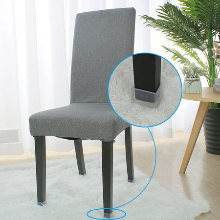 "Clear Chair Leg Caps Feet Furniture Floor Protector 14pcs 1.18""x1.57"" (30x40mm) - image 4 de 7"
