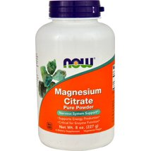 NOW Supplements Magnesium Citrate Pure Powder