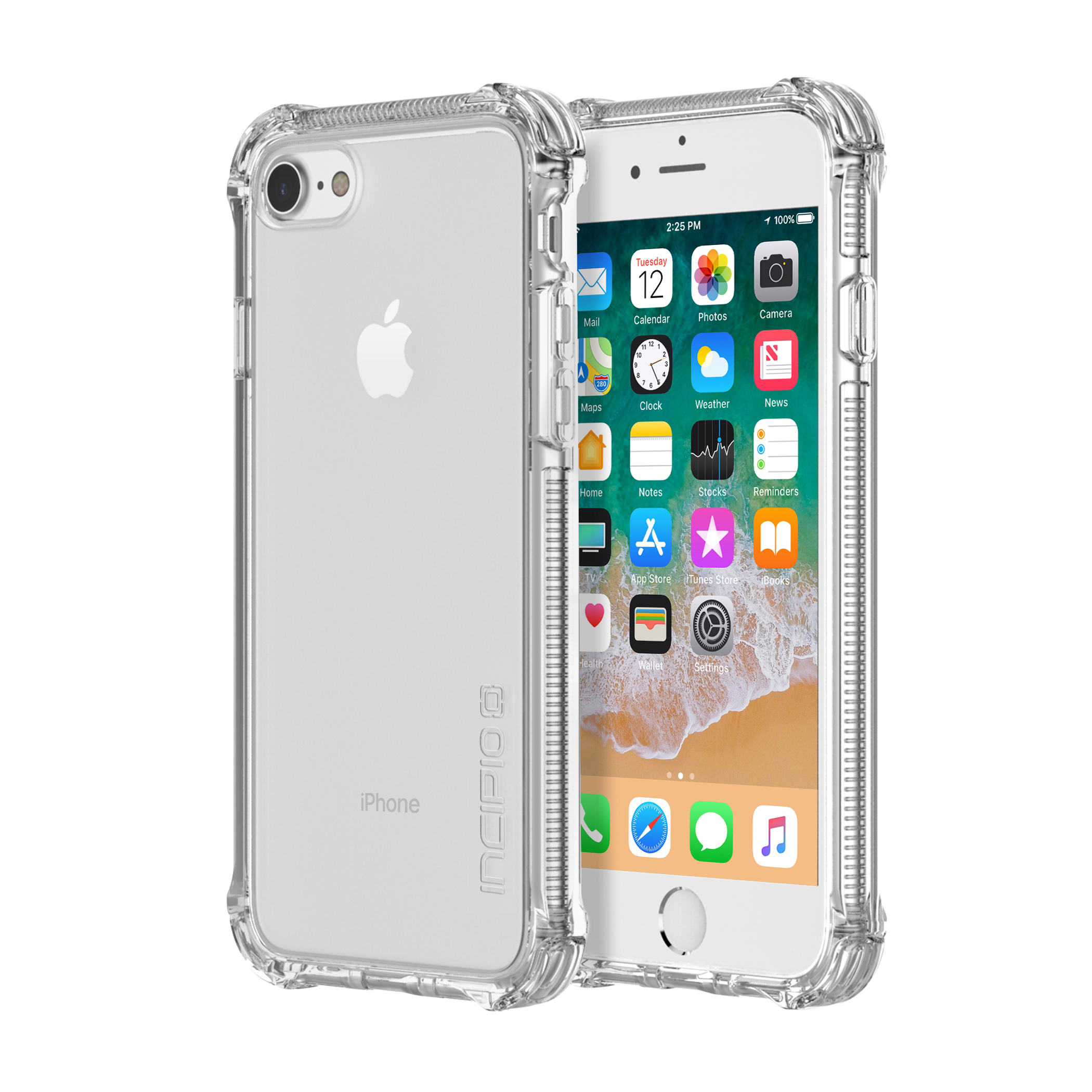 Incipio Reprieve Sport for iPhone 8 & iPhone 7 Clear Clear by Incipio Technologies