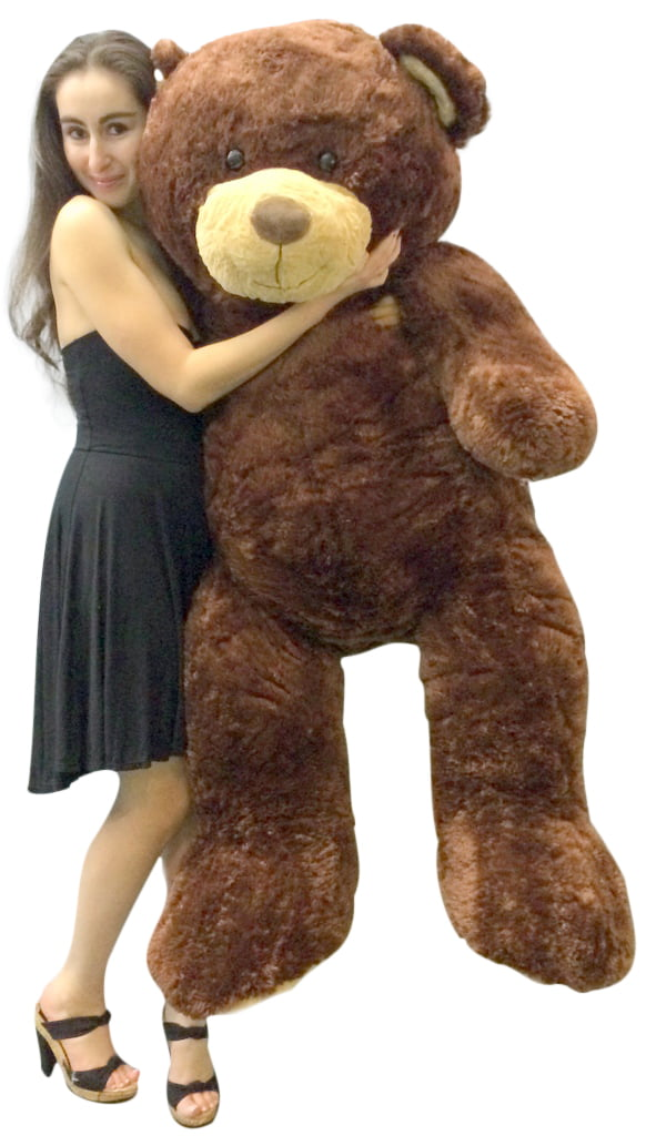 Big Plush 5 Foot Teddy Bear Soft Brown Premium Giant Stuffed Animal 60 Inch Snuggle Buddy by BigPlush