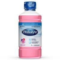 Pedialyte Electrolyte Solution, Bubblegum, 1 liter, 4 count
