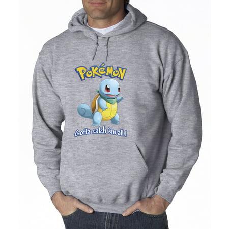 561 - Hoodie Pokemon Go Gotta Catch 'Em All Squirtle Sweatshirt](Pokemon Hoody)