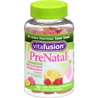 Vitafusion Prenatal Gummy Chews, 90 CT (Pack of 3)