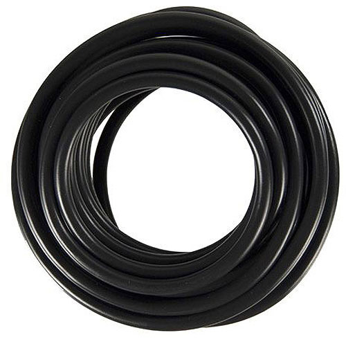 JT&T Products 3180F 18 AWG Black 1015 Motor Wire, 18' Cut