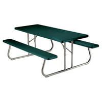 Lifetime 6' Picnic Table, Hunter Green, 22123