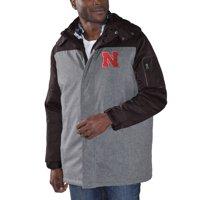 Nebraska Cornhuskers G-III Sports by Carl Banks QB Systems Full-Zip Jacket and Reversible Vest - Black/Gray