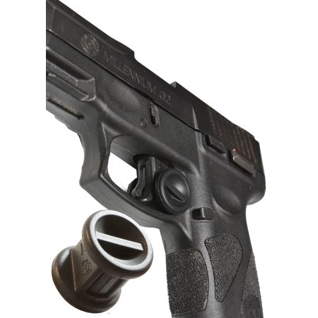 Garrison Grip TWO Micro Trigger Stop Holsters For Taurus Millennium G2 and G2C PT111 9mm Black