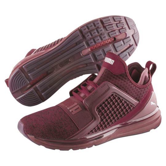 online retailer c9868 274ed PUMA IGNITE Limitless Training Sneaker Shoes Mens Tibetan Red Silver