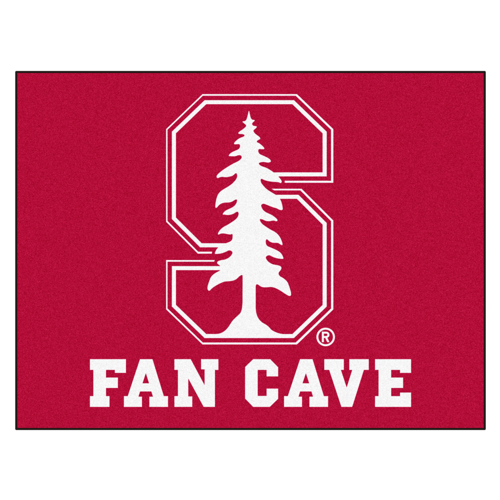 "Stanford Fan Cave All-Star Mat 33.75""x42.5"""